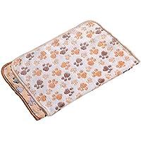Namgiy Almohada para cama de perro o perro, suave y lavable, ideal para el verano