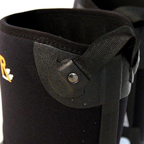 Raa Design Nova Neopren Gummistiefel schwarz Black
