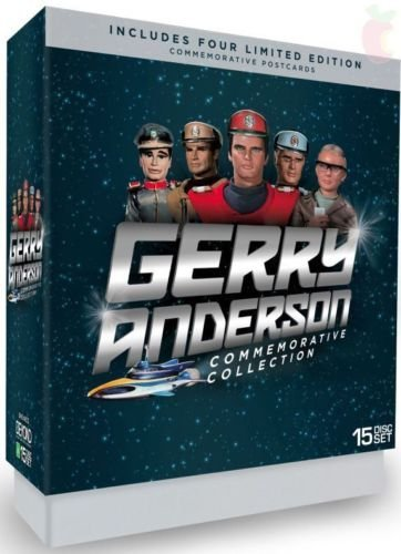 Gerry Anderson Commemorative Collection - 15-DVD Box Set ( Stingray / Joe 90 / Captain Scarlet and the Mysterons ) [ Australische Import ] (Charles David Easton)