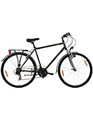 KS Cycling Herren Trekkingrad Nevada Anthrazit RH 58 cm Flachlenker Fahrrad, Dark Bronze, 28 Zoll