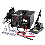 Best Soldering Stations - Mbuynow 3 in 1 Soldering Station Solder Rework Review