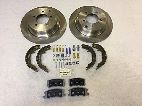 RAYBESTOS CARLSON NTY Rear Brakes Small Repair KIT Jeep Compass & Patriot MK 2007-2015 302MM DISCS