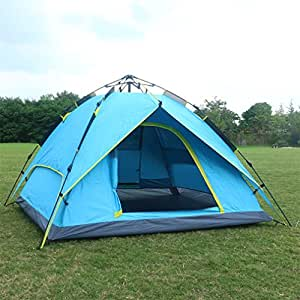 Automatic Pop Up Tent Backpacking Tents OUTAD for Outdoor Sports C&ing Hiking Travel Beach with Carrying & Automatic Pop Up Tent Backpacking Tents OUTAD for Outdoor Sports ...