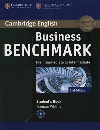 Business Benchmark 2nd Pre-intermediate to Intermediate BULATS Student's Book (Cambridge English)