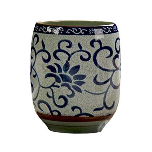 Blancho 2 PCS Tasses à thé en céramique chinoise et japonaise Tasse à bière en tasse à thé Kung Fu Tasse à eau #09