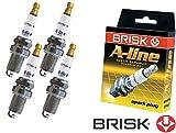 Brisk A-Line 37 Yttrium LR15TCY-1 1451 Bougies d'allumage, 4 pièces