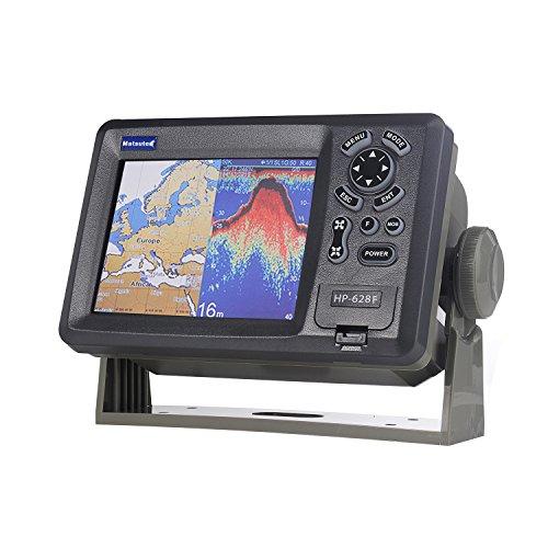 matsutec hp-628F Marine Farbe Plotter Sounder Fishfinder Dual-Frequenz 14,2cm GPS/Statusmeldung Marine Navigator W/hohe Empfindlichkeit Antenne Marine Gps Kartenplotter