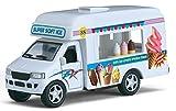 "Flying Toyszer Kinsfun 5"" Ice Cream Truck, Pack of 1"