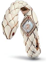 Roberto Cavalli Ladies Watch R7253151545 In Collection Snake Star, Rosegold with Swarovski