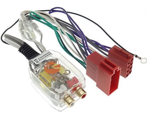 h Low Converter ISO CINCH Plug&Play Verstärker Auto PKW KFZ ()