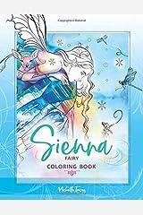 Sienna - Fairy Coloring Book Taschenbuch