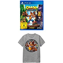 Crash Bandicoot N.Sane Trilogy - [PlayStation 4] + Crash Bandicoot T-Shirt Logo M