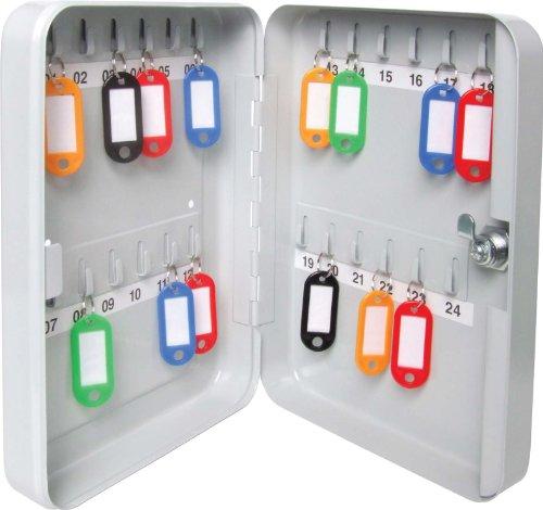 Sterling Schlüsselkasten für 24 Schlüssel (Schlüsselanhänger Sterling)