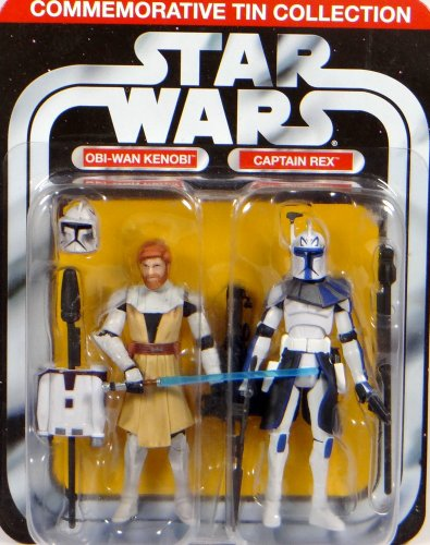 Captain Rex und Obi-Wan Kenobi in Clone Armor im Set - Star Wars The Clone Wars Collection von Hasbro