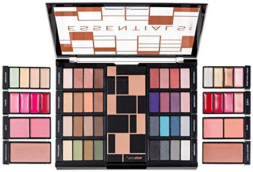 youstar Essentials Make-Up Palette, Eyeshadow, Contour, Concealer, Rouge und Lipstick Palette
