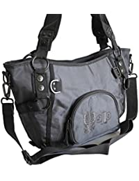 Jennifer Jones - modische sportliche Damen Handtasche Umhängetasche Shoppertasche - präsentiert von ZMOKA® in versch. Farben