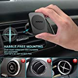 Car Phone Holder Air Vent, Mpow Magnetic Car Phone Mount 360 Degree Swivel Phone Holder for Car Cradle Universal Car Mount for iPhone 7 6 6 Plus 5 Samsung S8 S7 LG Sony Huawei and Other Smartphones Bild 3