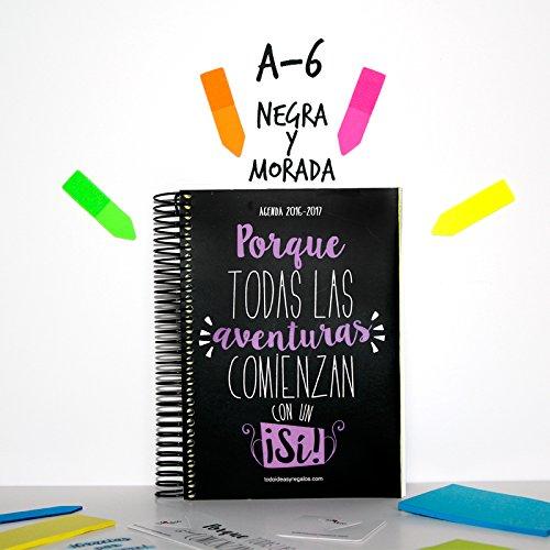 todoideas Agenda 2017A6Black and Purple