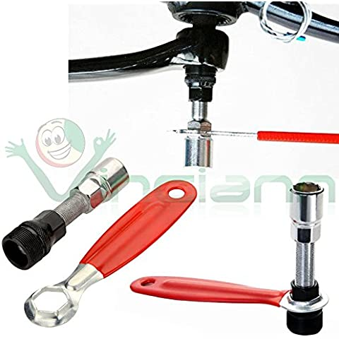 Chiave rimozione estrattore GUARNITURA riparazione manutenzione pedale BICI