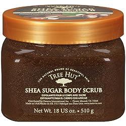Tree Hut Shea Sugar Brazilian Nut Body Scrub, 18 oz