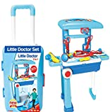 #4: Vivir High Quality 2 in 1 Luggage Doctor Set Toys for Kids ( Toys for 3 Year Old Boy and Girl )