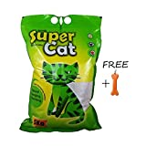 #6: Goofy Tails Super Cat Litter (5kg, Pack of 3) With Key Chain