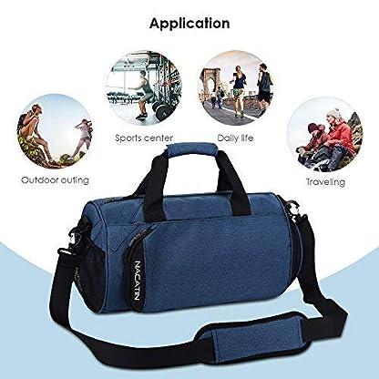 NACATIN-modische-Sporttasche-mit-Schuhfach-25L-Handgepck-Tasche-502424cmHochwertige-Gym-Tasche-fr-Mnner-Frauen-und-Kinder