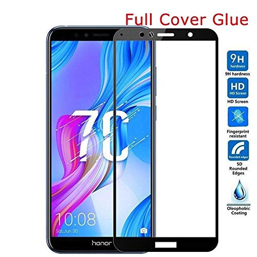 Techgadget 5D Curved Edge-to-Edge Tempered Glass for Huawei Honor7C