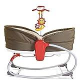Tiny Love 3-in-1 Rocker-Napper (gemütliche Baby-Schaukel und Babybett in einem, inklusive Vibration und Mobile) braun