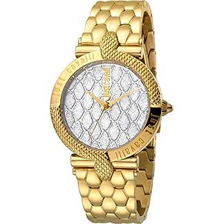 Reloj Just Cavalli Carattere JC1L047M0105 – Analógico Cuarzo para Mujer en Acero Inoxidable Chapado