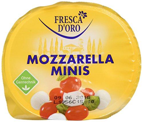 Fresca d' Oro Mozzarella Minis, 125 g