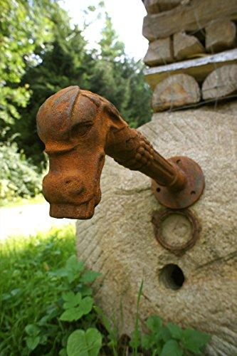 Antikas - Wasserspeier, Brunnenauslauf, Brunnen - Fabelwesen Gargoyle als Speier