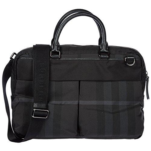 Burberry borsa lavoro portadocumenti pc notebook cartella nero