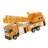 1:64 Grúa Fundición A Presión De Los Juguetes Del Coche Camión Elevador Modelo De Vehículo