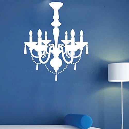 Aoligei Kronleuchter Europa Wohnzimmer Schlafzimmer Hintergrund Wandaufkleber 60 * 70cm