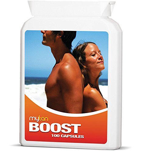 MyTan Boost Tanning Pills | Tan Booster and Accelerator | 100 Capsules | All Natural | 100{46d2e7468d31a16abd0d4fe4233f64e41d6e33da0cc3e8a83840d550fa3ec232} Guaranteed by MyTan