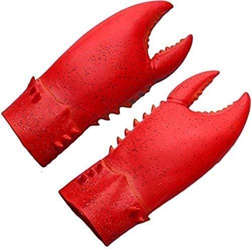 Yacn Cosplay Krallen Krabbe Kostüm & Klaue Hände Kostüm Zubehör-Robe Kostüm Handschuhe, Cosplay Amor Golves ()