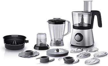 Philips HR7769/00 Robot da Cucina 4 in 1, Multifunzione con Frullatore + Tritatutto + Spremiagrumi, 850 W, Viva Collection -