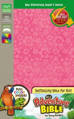 NIrV, Adventure Bible for Early Readers, Imitation Leather, Pink, Full Color by Lawrence O. Richards (2014-06-24)