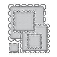 Spellbinders Nestabilities Decorative Elements Dies-Lacey Squares