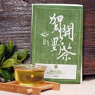 Thé vert printanier Thé puer cru, thé à thé, 200g (0.44LB) Assurez-vous de la qualité du puerh du yunnan Thé du thé Pu'er Thé chinois du thé pu-erh