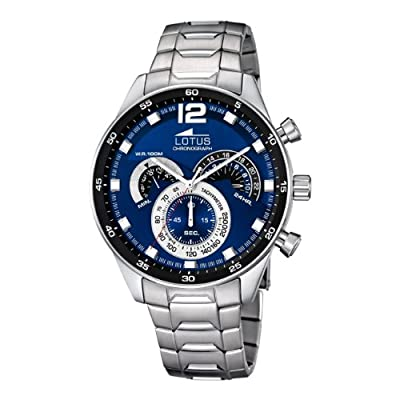 GENUINE LOTUS Watch Male Stainless steel Chronograph 10 ATM - 10120-2 de 10120-2