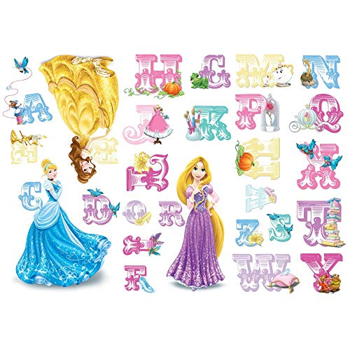 Princesses Alphabet Stickers stickers muraux