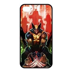 Unique Custom X-Men Series Wolverine for iPhone 4,4S Case