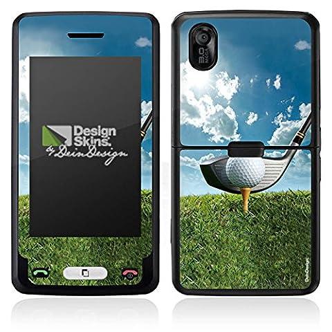 LG KP502 Cookie Autocollant Protection Film Design Sticker Skin Golf Club de golf Sport