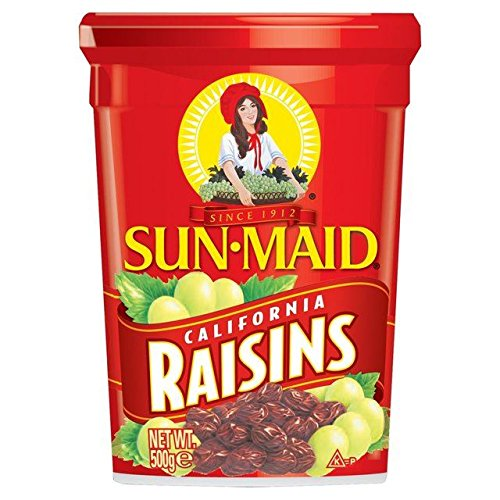 sun-maid California Rosinen 500 g (Packung von 2)