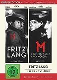 Fritz Lang Filmkunst-Box - (Double Feature: 'Fritz Lang' + 'M - Eine Stadt sucht einen Mörder') - bundesweit streng limitiert auf 1.000 Boxen! [Limited Edition] [2 DVDs] -