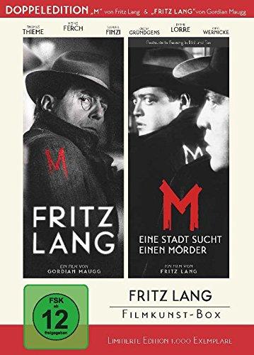 Fritz Lang Filmkunst-Box - (Double Feature: 'Fritz Lang' + 'M - Eine Stadt sucht einen Mörder') - bundesweit streng limitiert a