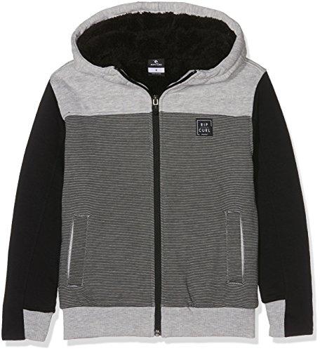 Rip Curl Hz Sherpa Fleece Boy Sweatshirt Zip Kapuze Jungen S cement marle