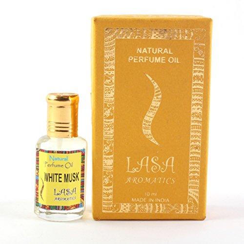 Lasa Aromatics Natural Perfume Oil White Musk Fragrance 100% Pure...